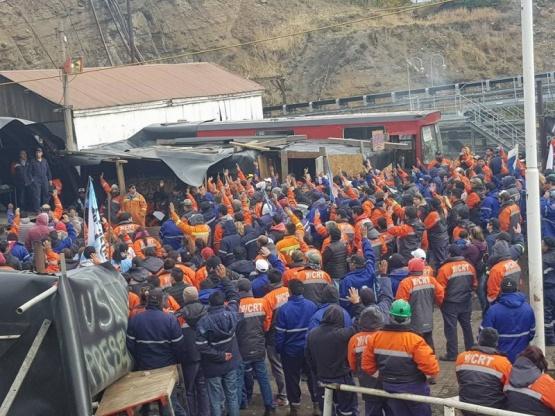 Mineros intimaron a YCRT a discutir contrapropuesta en menos de 48 horas