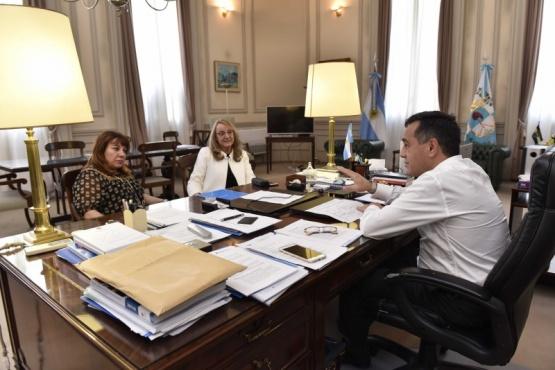 Alicia se reunió con Nación por el aumento del 8% para docentes