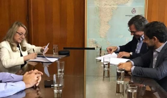 Alicia firmó ampliación del convenio de asistencia financiera por $350 millones