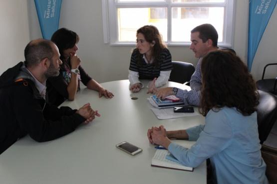 El puesto sanitario de El Chaltén fue el eje de reunión con el Ministerio de Salud