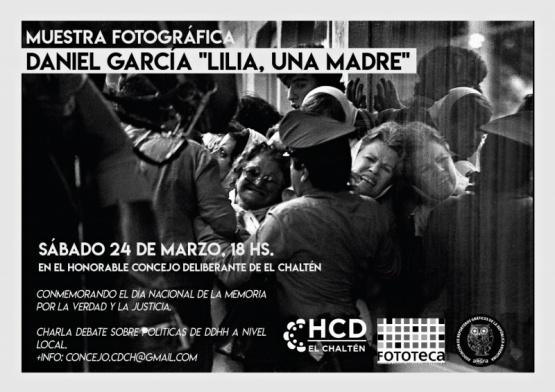 "Muestra Fotográfica ""Lilia, Una Madre"""