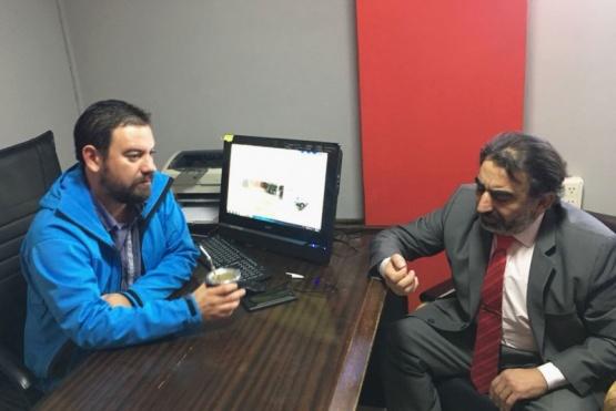 Kingma y Valenzuela, juntos previo a las internas radicales