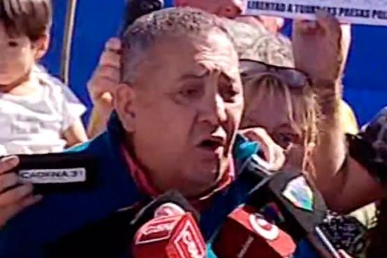 Luis D'Elía, tras salir de prisión: