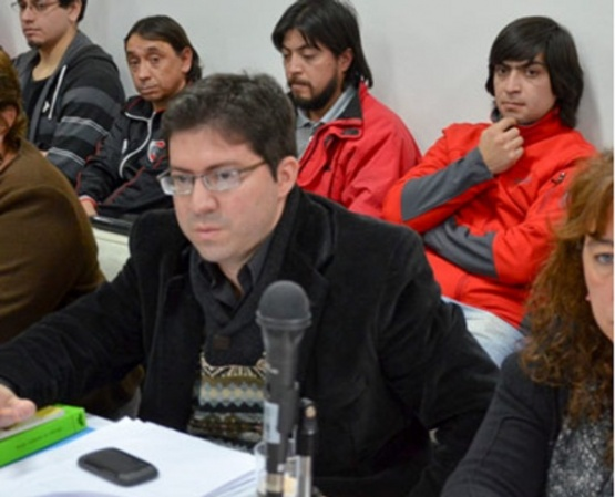 Dr. Alberto Luciani, representante del imputado de Roberto Tellechea.