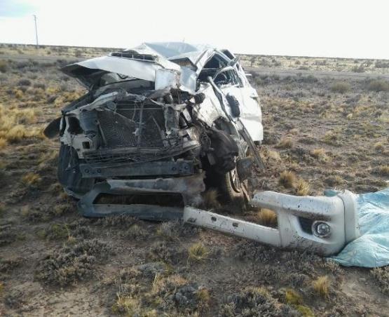 Fatal: Dos personas murieron en accidente cerca de Koluel Kaike
