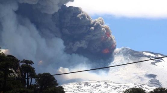 El volcán Copahue pasó a