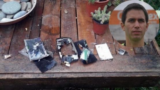 El celular que habría sido destruido por el abogado de Martín bustos. (Foto / El Intransigente)