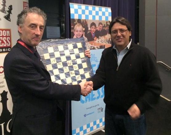 Harasic tuvo destacada participación en actividad de la Federación Argentina de Ajedrez