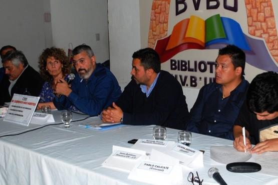 Vecinos se reunieron con autoridades provinciales y municipales por la CSS