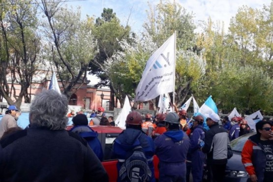 Trabajadores de YCRT fueron recibidos en Casa de Gobierno