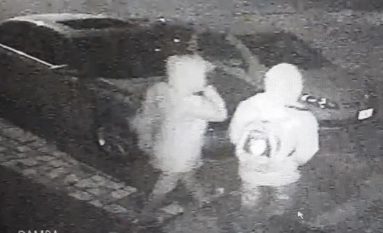 Otro intento de robo en un vehículo que quedó registrado