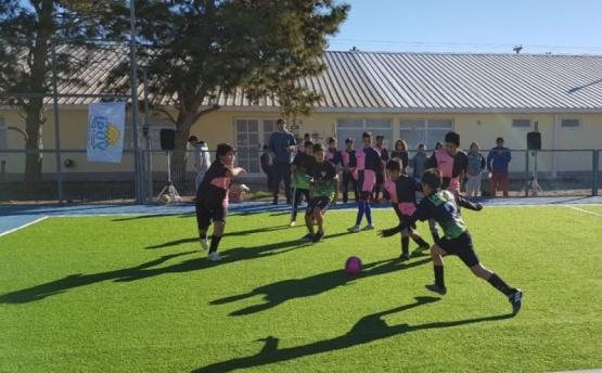 Jóvenes de Las Heras compitieron en el Torneo de la Memoria