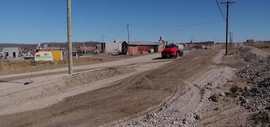 El Municipio tuvo que arreglar las calles para garantizar acceso a barrios