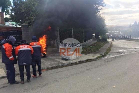 Autoridades de YCRT se reunieron y mineros bloquearon los accesos al lugar