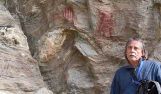 Inédito arte rupestre hallado en Tierra del Fuego