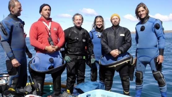 Una argentina investiga histórico naufragio del siglo XVIII