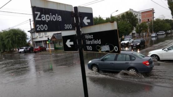 Una foto clásica de todas las lluvias. (C.G)