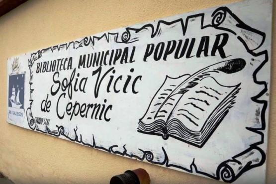Volvieron a robar en la Biblioteca Municipal Sofía Vicic de Cepernic