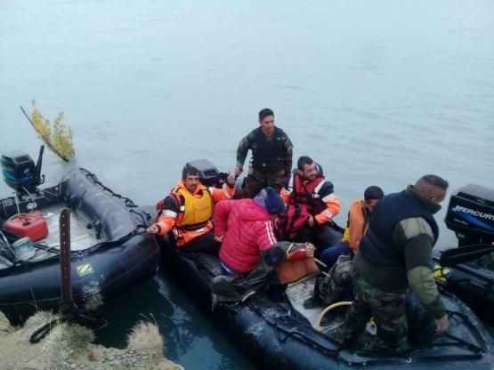 Tareas de prevención en Punta Arenas.