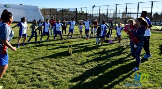 El fútbol femenino crece en Caleta Olivia