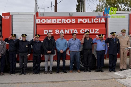 Conmemoraron el aniversario de Bomberos.