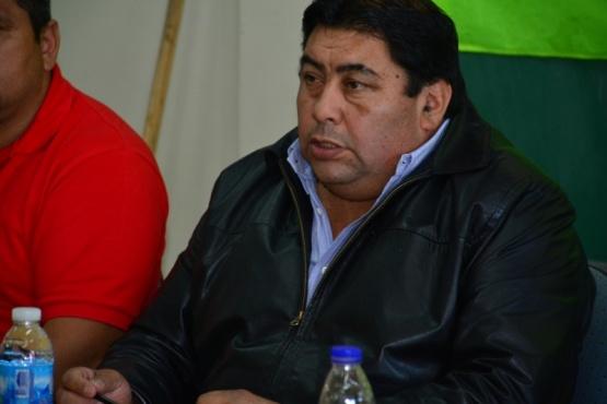 Mateo Suarez, interventor Unión Obrera de la Construcción (UOCRA) de la República Argentina.