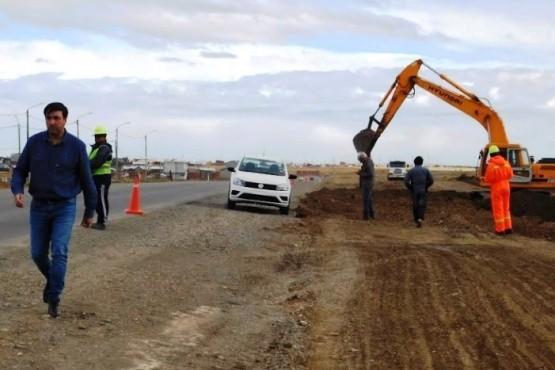 San Benito: ante alguna inclemencia abrirán el paso en la obra del IDUV