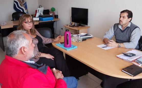 Punta Quilla en la agenda de trabajo entre Victoria y la UNESPOSC