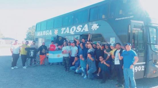 El lunes llegarán a Buenos Aires.