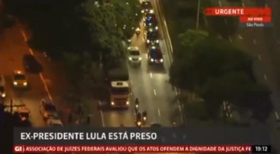 Lula da Silva se entregó a la policía