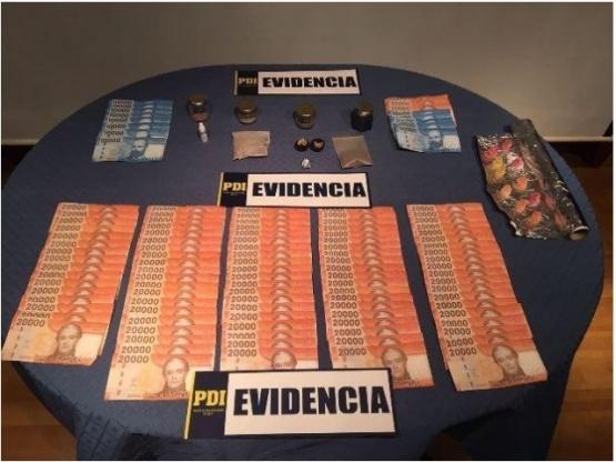 Un sujeto fue detenido por traficar drogas sintéticas