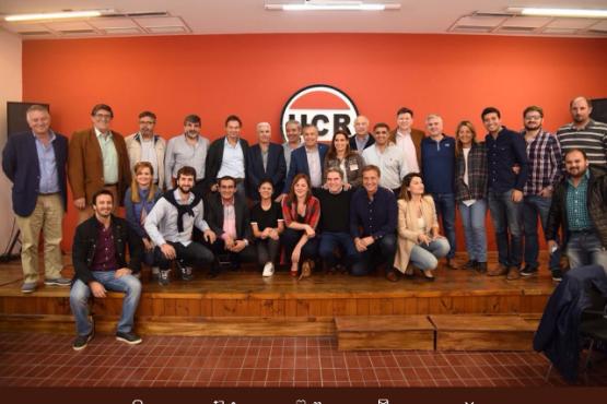 Costa y Gardonio participaron del Comité Nacional de la UCR que tuvo fuerte apoyo a las políticas de Cambiemos
