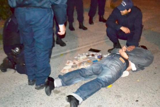 Un joven fue detenido por robo