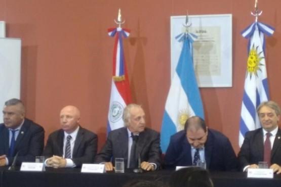 Dieron a conocer el reparto de sedes entre Argentina, Uruguay y Paraguay