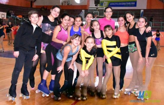 Las patinadoras se midieron en el Torneo Provincial de Patín