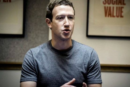 Mark Zuckerberg fundó Facebook y es el CEO de la red social. Foto:Télam