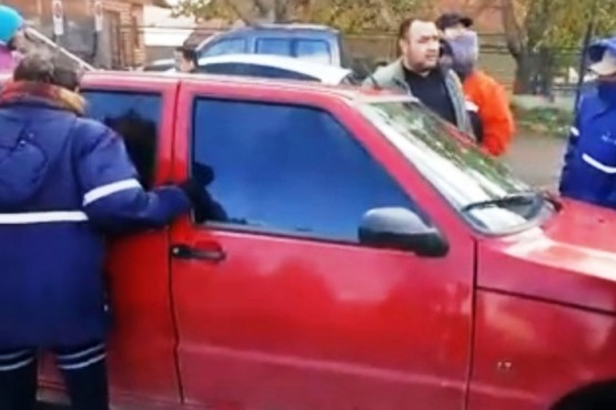 Un auto que utilizó Samir Zeidán fue apuntado como uno de los que amenazó a delegado de ATE