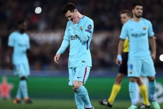 Roma sorprendió a Barcelona y lo eliminó de la Champions League