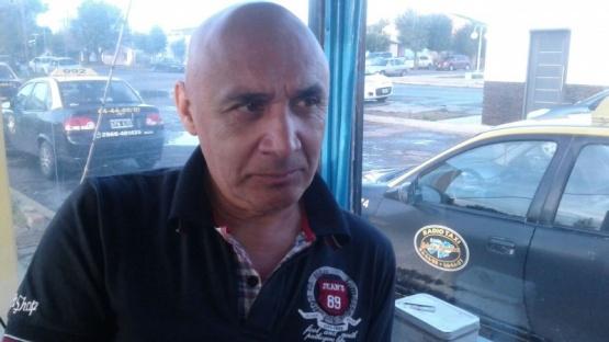 Juan Ojeda, referente de la parada Malvinas Argentinas.