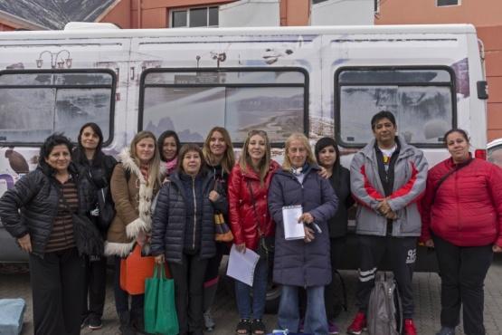 Ya viajaron hacia Perito Moreno.