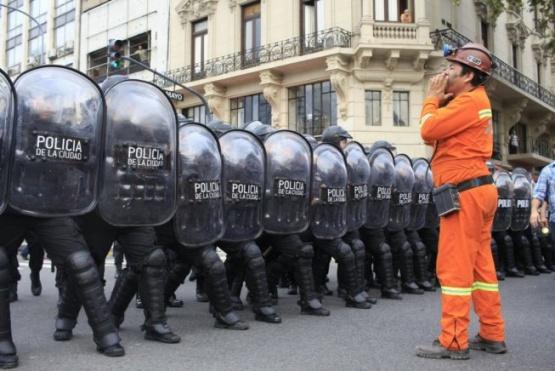 Derechos Humanos repudió la represión a mineros