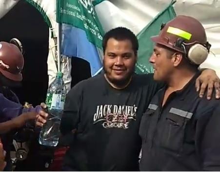 Liberaron al minero detenido