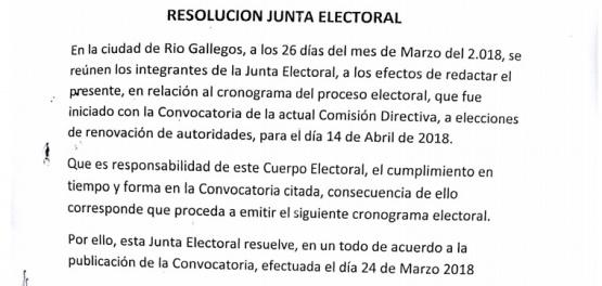 """""""La Lista Celeste cumplió con los requisitos de la Junta Electoral"""""""