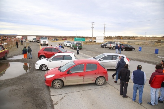 Bloqueo en la ruta por protesta ante despidos