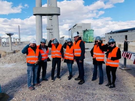 Destacaron la generación de empleo y energía del parque eólico