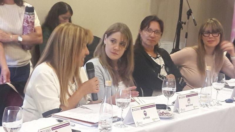 Lorena Beltran, Subsecretaria de la Mujer en Santa Cruz.