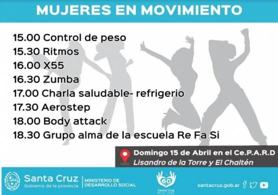 Nueva edición de Mujeres en Movimiento