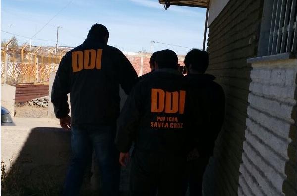 Los sujetos fueron detenidos en la jornada del jueves, pasado el mediodía.