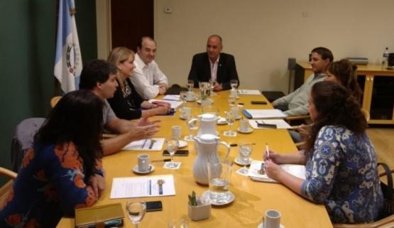 Reunión del Consejo Regional.
