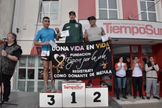 Los ganadores en todas las categorías de la corrida